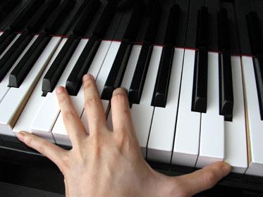 Tecniche mano sinistra al pianoforte
