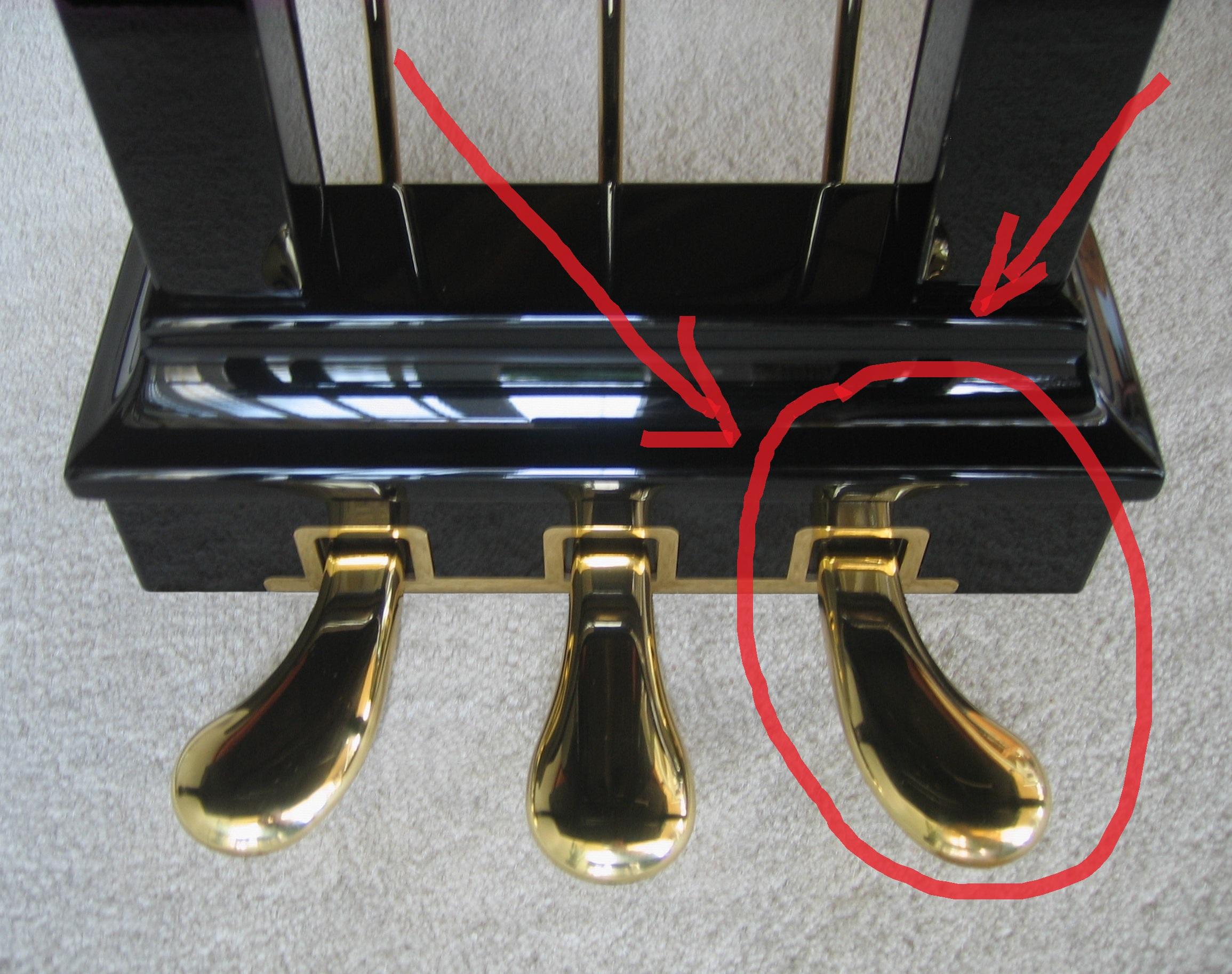 pedale risonanza pianoforte